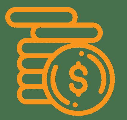 ícone de custo