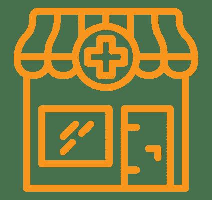 Ícone de uma farmácia