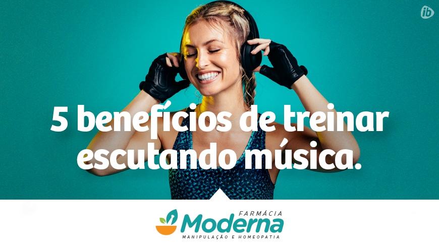 treinar ouvindo música